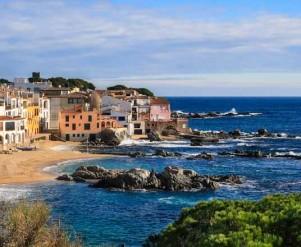 The beautiful beach and village of Calella de Palafrugell (Costa Brava, Catalonia, Spain)